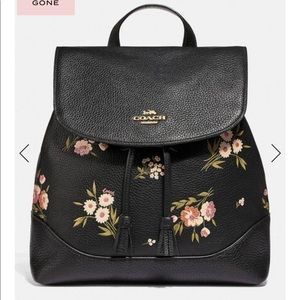 Tossed Daisy leather Elle backpack bundle